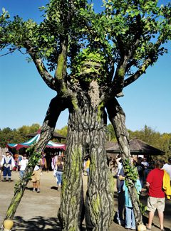 Green Man at the West Virginia Ren Fest