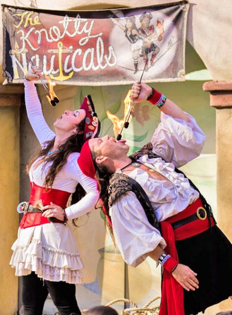 The Knotty Nauticals at the West Virginia Renaissance Festival
