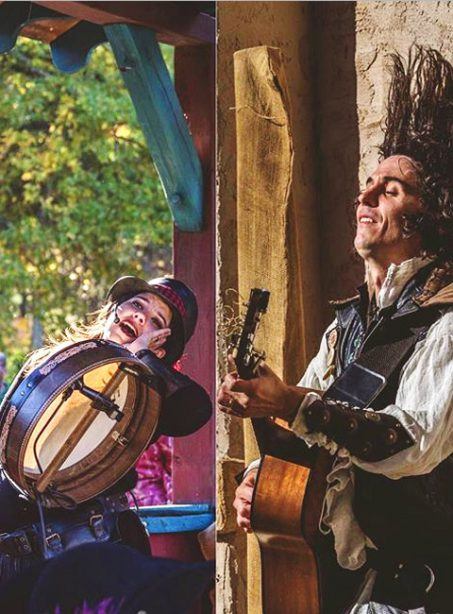 The Reelin' ROgues at the West Virginia Renaissance Festival