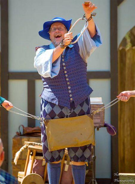 Issac Fawlkes, MAgician, at the West Virginia REnaissance Festival