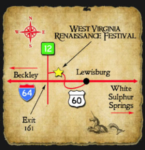 Directions to the WV Renfesr